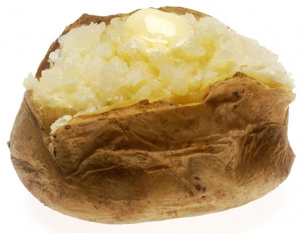 regular baked potato