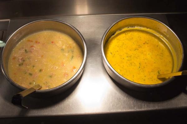 soup at buffet